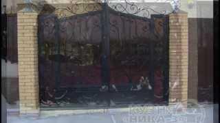 кованые ворота на заказ в Тамбове(кованые ворота на заказ в Тамбове - кузня
