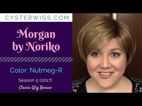 CysterWigs Wig Review: Morgan by Noriko, Color: Nutmeg-R
