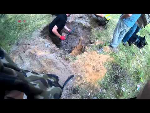PoszukiwaniaTV Żagań Stalag Luft III 3 Obóz Jeniecki 1/2.08.2015