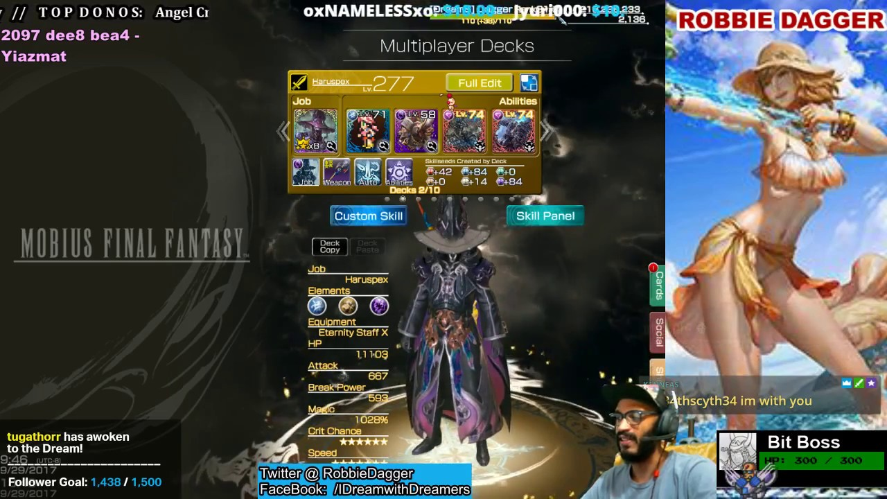 mobius final fantasy multiplayer deck building with friends belias