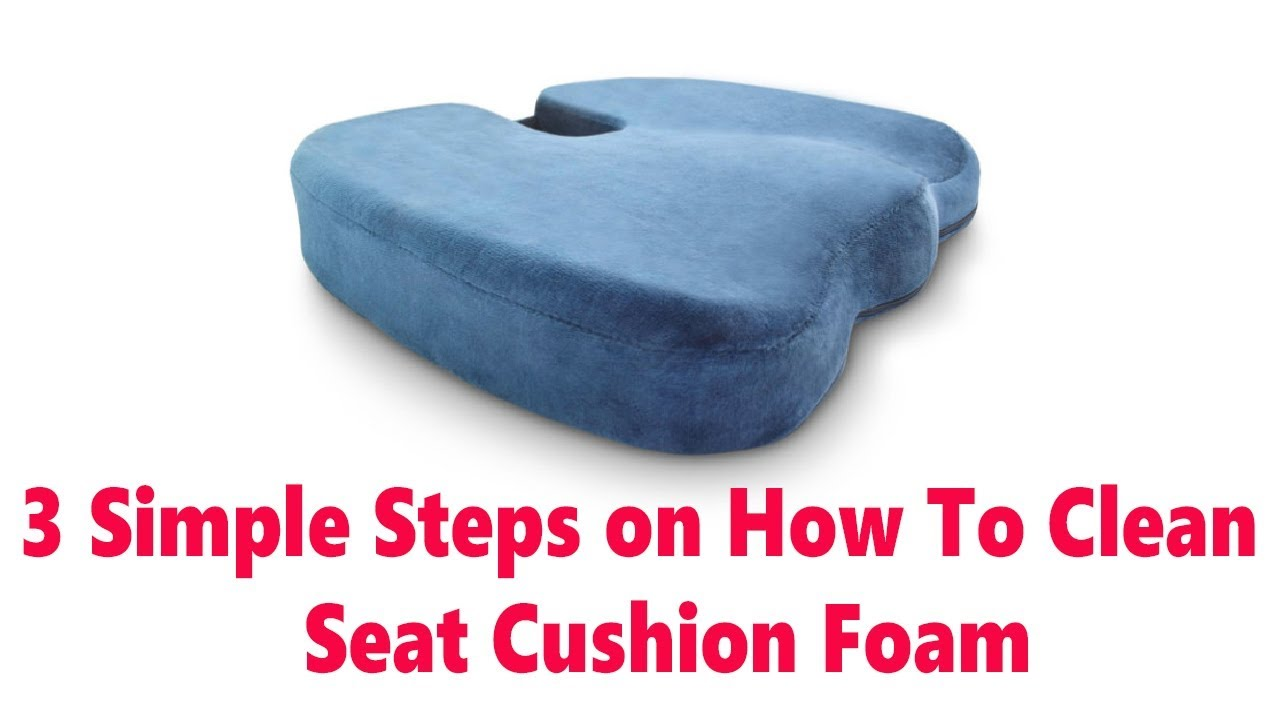 Clean Seat Cushion Foam
