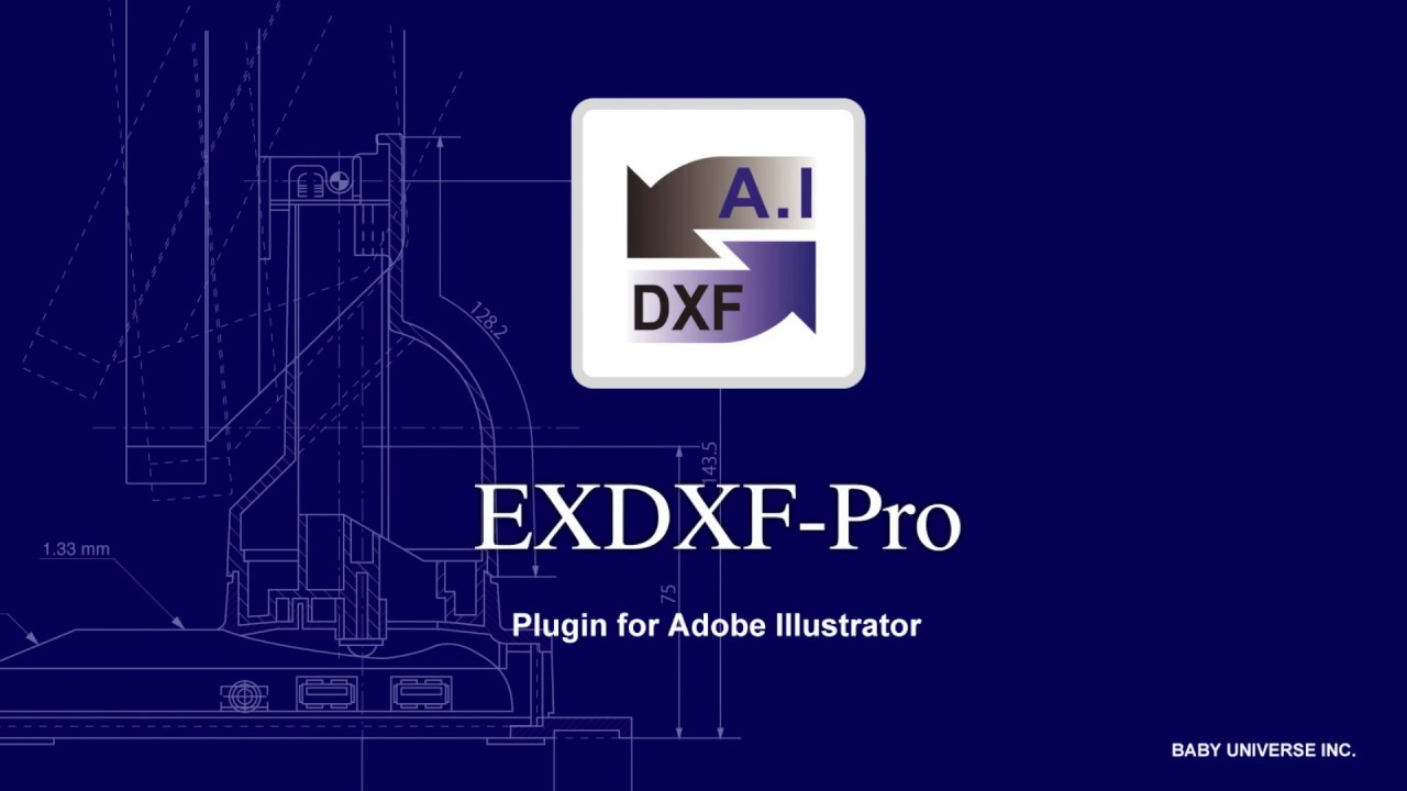 AI to DXF Converter - EXDXF-Pro4