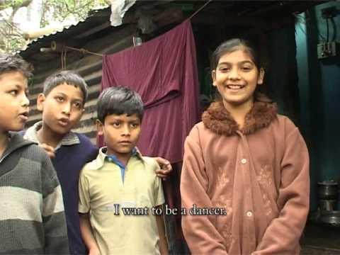 PASSIONATE LONGING OF THE SLUM KIDS