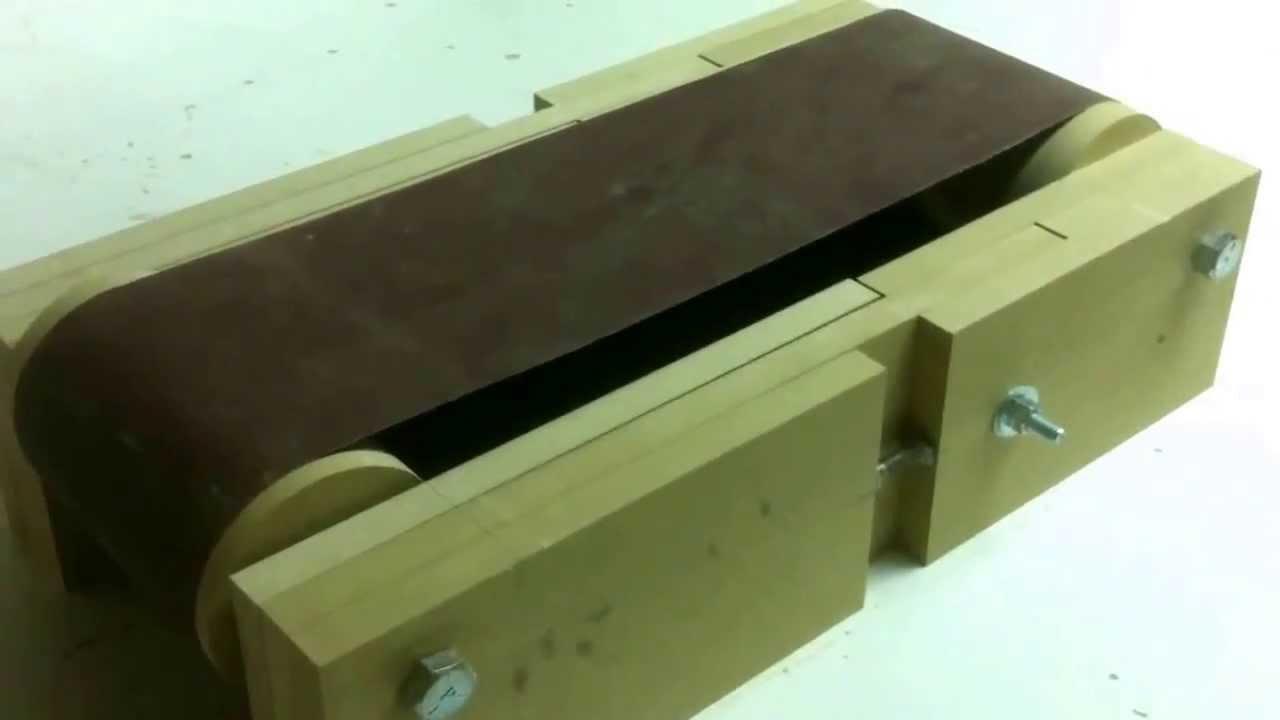 Cheap Diy Belt Sander 3 Adjustments Youtube