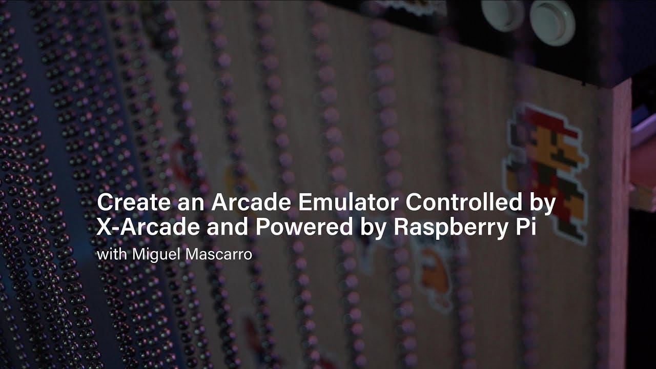 RetroPie + X-Arcade Setup