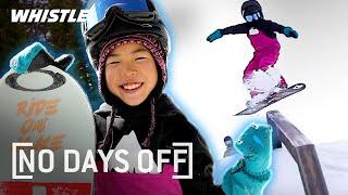 8YearOld Snowboarding PHENOM Shreds Like A PRO!