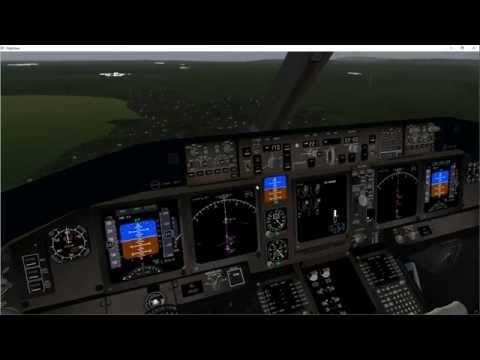 tutorial Boeing 777 full flight Nice-Marseille simulator
