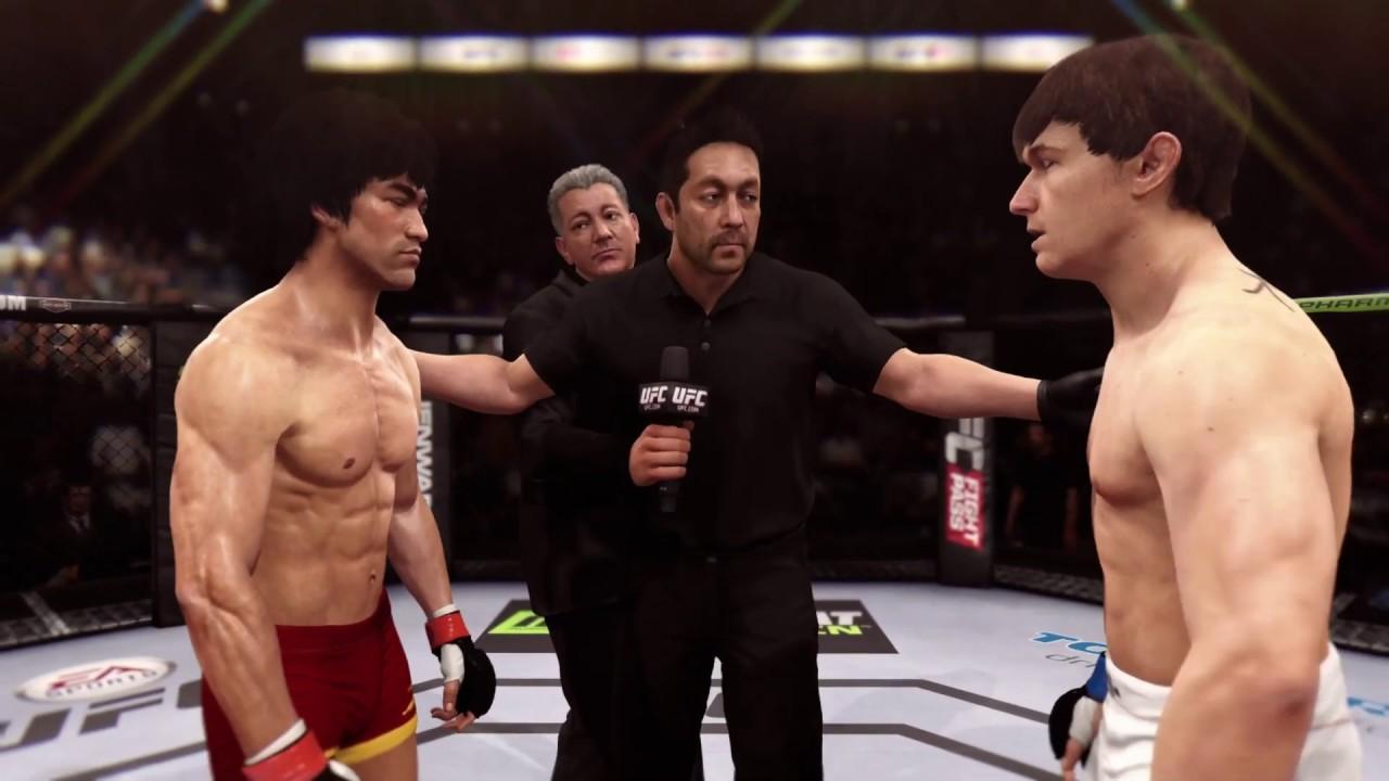 Bruce Lee vs. Brian Bowles (EA Sports UFC) - CPU vs. CPU
