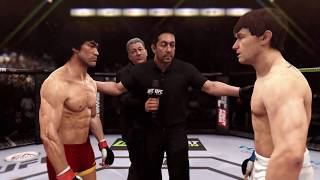Bruce Lee vs. Brian Bowles (EA Sports UFC) - CPU vs. CPU