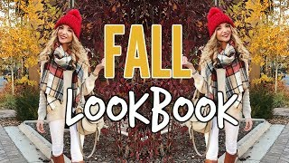 FALL FASHION LOOKBOOK | Cute & Cozy Outfit Ideas!