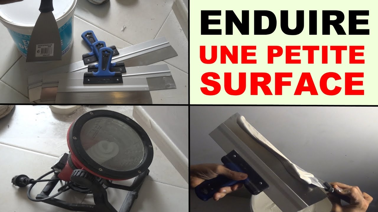Enduire un mur int rieur plafond de petite surface youtube - Enduire un mur video ...