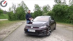 2018 VW Golf GTI Performance 7 Gang DSG 180 kW/245 PS Test, Review, Fahrbericht