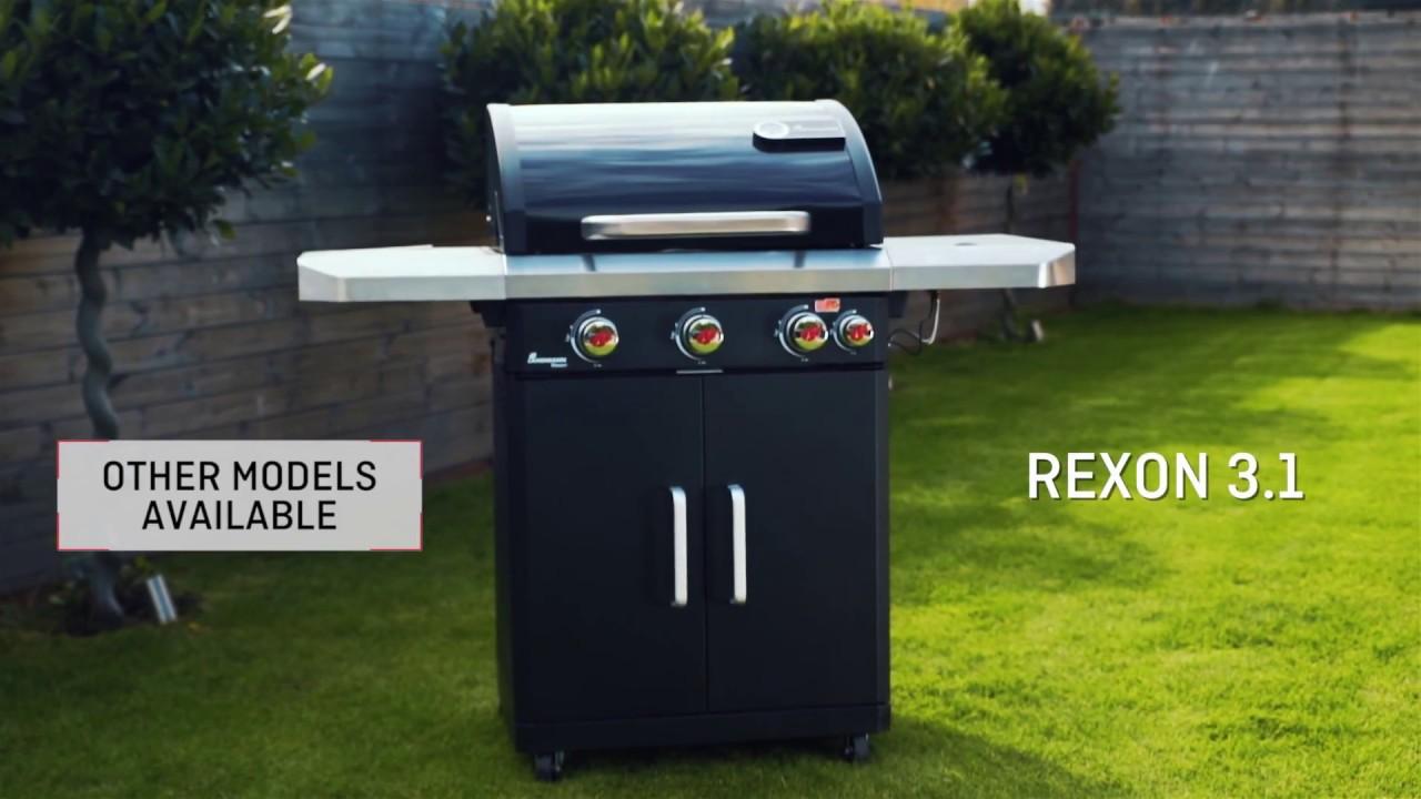 Landmann Gasgrill Rexon : Rexon pts gas barbecue youtube