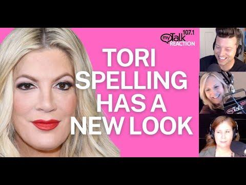 Tori Spelling Has a Surprising New Look
