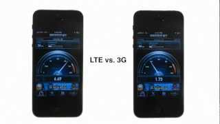 iPhone 5: 4G LTE vs. 3G Speed Test(A speed test comparing the iPhone 5 on 3G and 4G LTE., 2012-09-22T03:11:45.000Z)