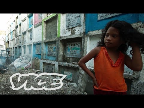 Living in Cemetery Slums in the Philippines