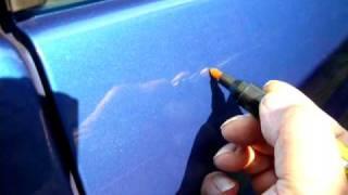 Odstranění škrábanců autolaku.MOV