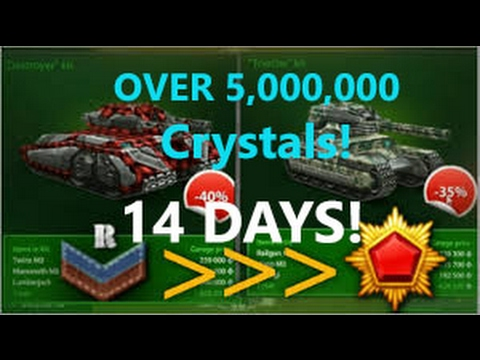 TANKI ONLINE - RECRUIT TO GENERALISSIMO IN ONLY 14 DAYS!! [*NEW* WORLD RECORD]: