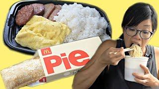 McDonald's Hawaii - Hawaiian menu items only in Hawai'i