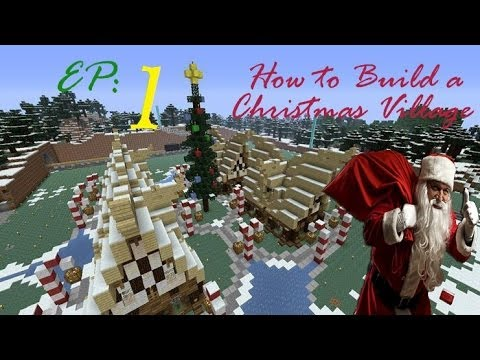 how to create a village in minecraft