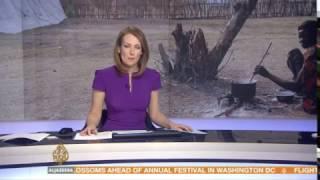 Al Jazeera interviews Tearfund's Oenone Chadburn on the East Africa Crisis