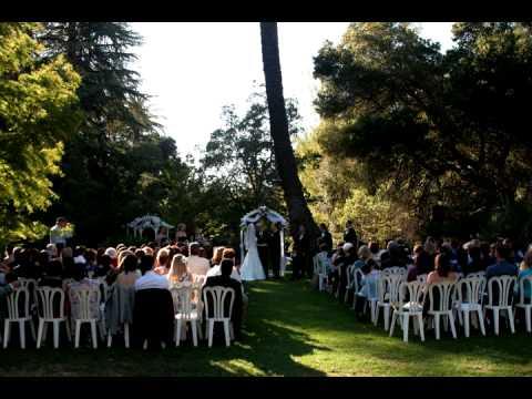Kristen and Jesse wedding photo slideshow shot at Dunsmuir Mansion Oakland, CA