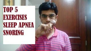 Top 5 Exercises for Sleep Apnea and Snoring