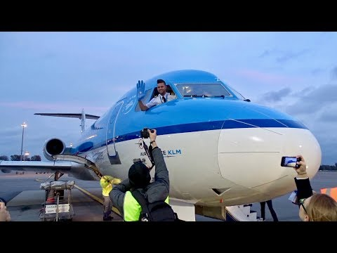 Farewell KLM Fokker 70 | Luxembourg Airport - 28.10.17