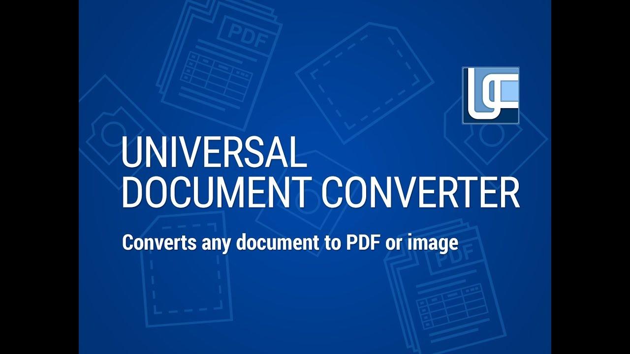 Universal Document Converter 2022 Crack