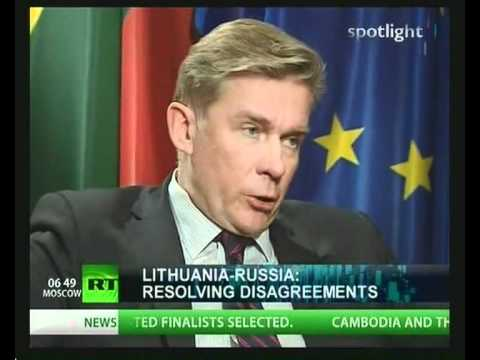 NWW World-Interview 08.02.2011 (Spotlight Lithuan FM Audronius Azubalis OSCE pt.02).AVI