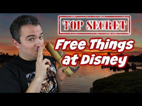 Secret FREE Things to Do at Disney