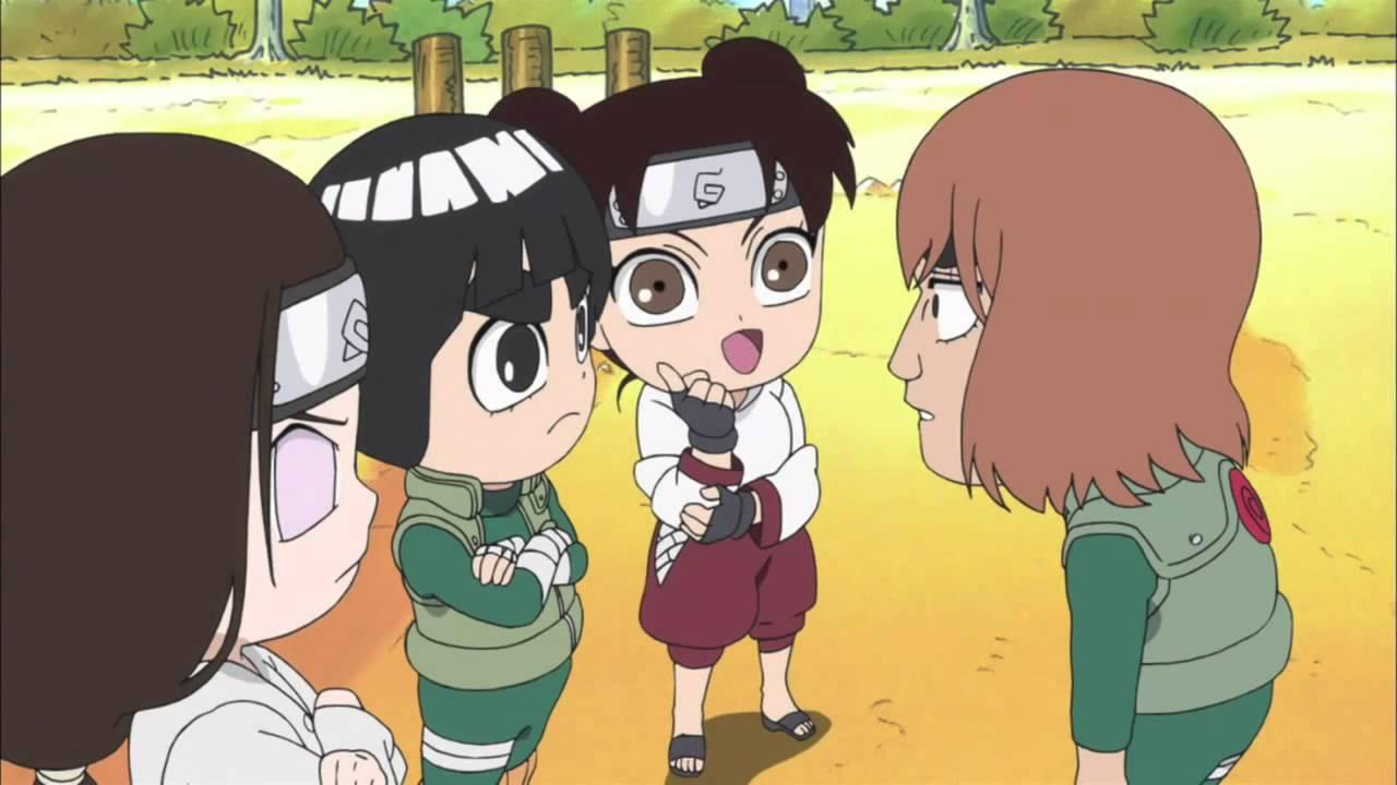 Gai and Orochimaru are bald (Naruto SD) - YouTube Gaara And Neji