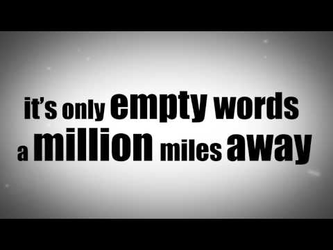 LYRIC VIDEO Christina Aguilera - Empty Words