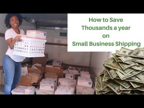 How to Save your Small Business THOUSANDS a Year on shipping 💰💸💰