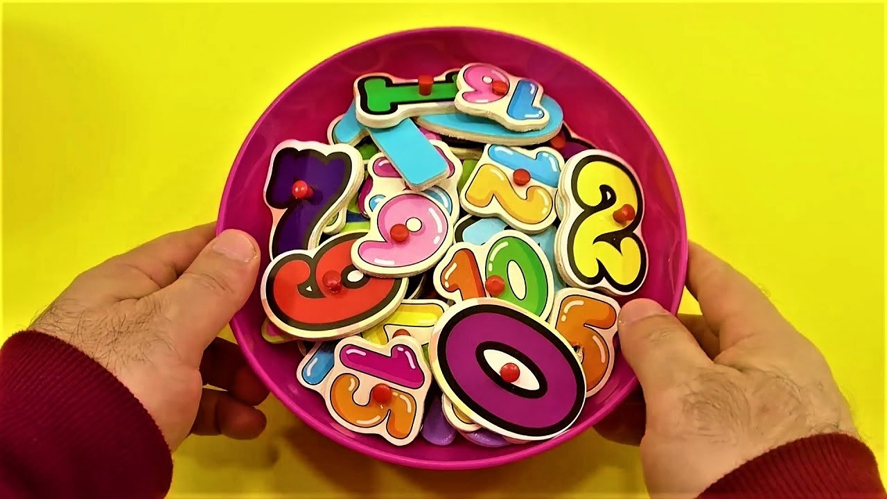 Wooden Numbers with Contest Party! Which One Wins The Competition! Fun Learning Contest! For Kids