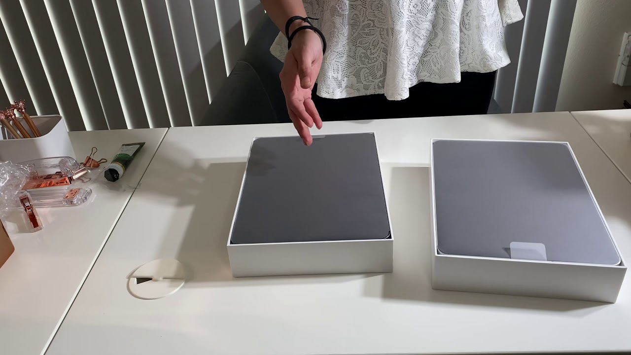 iPad Pro 2020, Silver VS Space Grey, unboxing - YouTube