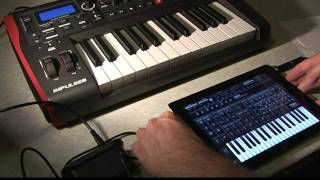 Ipad 2 Demo Connecting Novation Impulse 25