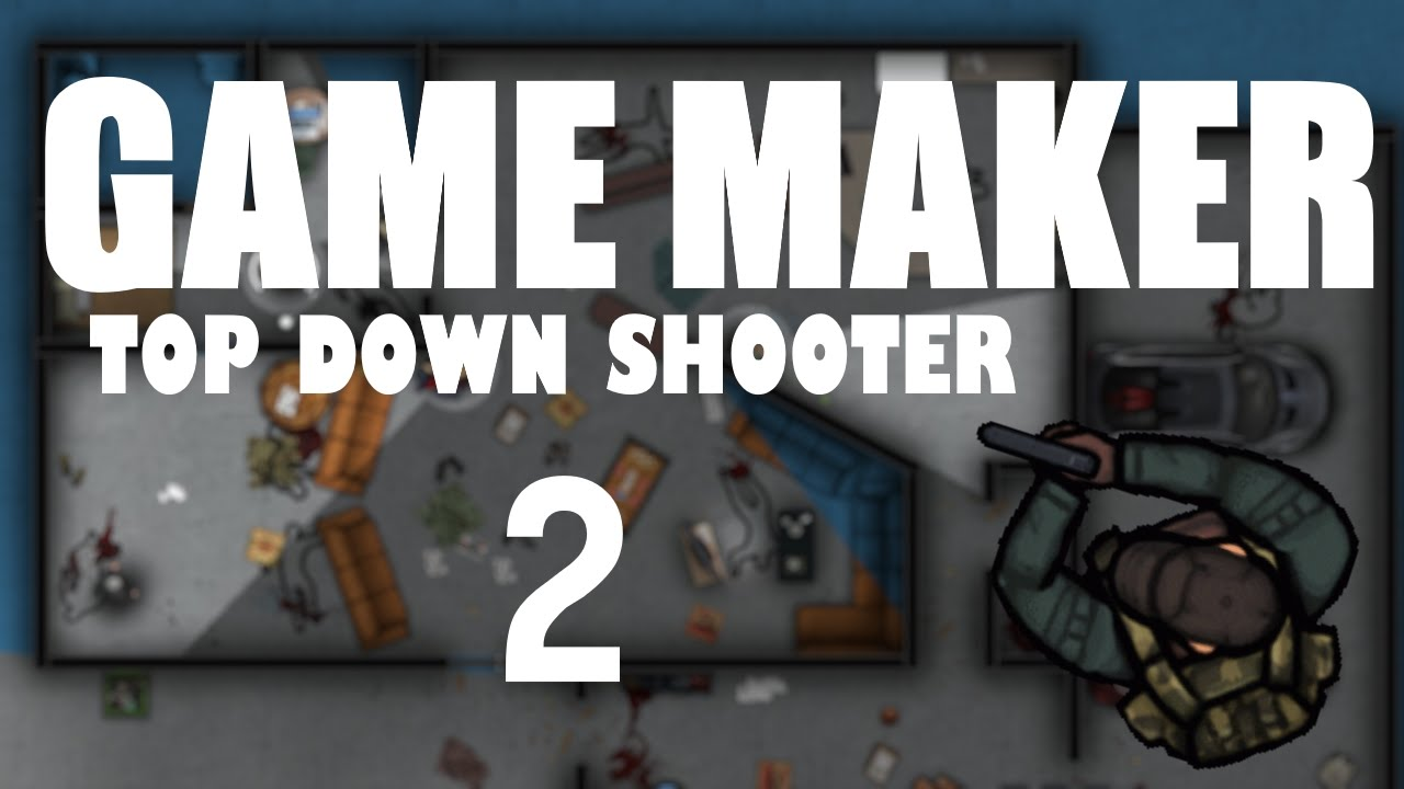 Game Maker Studio Top Down Shooter Part 2 Youtube