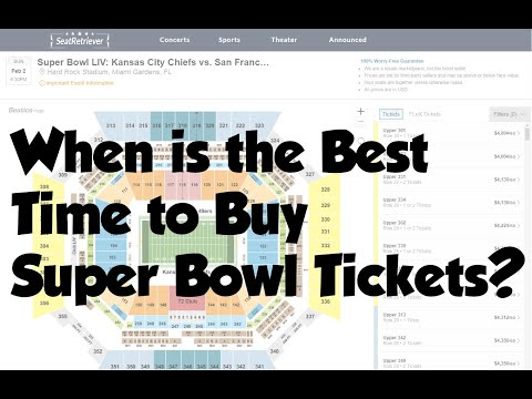 When Is The Best Time To Buy Super Bowl 54 Tickets?