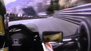 Ayrton Senna Monaco 1989 Grand Prix Qualifying, may 6th