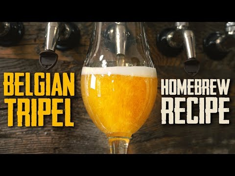 How To Brew: Belgian Tripel Homebrew Beer Recipe