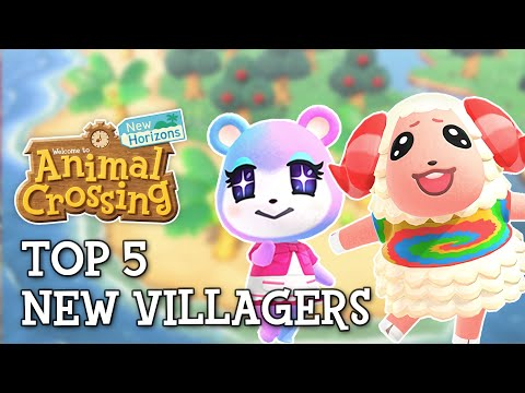 Top 5 New Villagers In Animal Crossing New Horizons Youtube