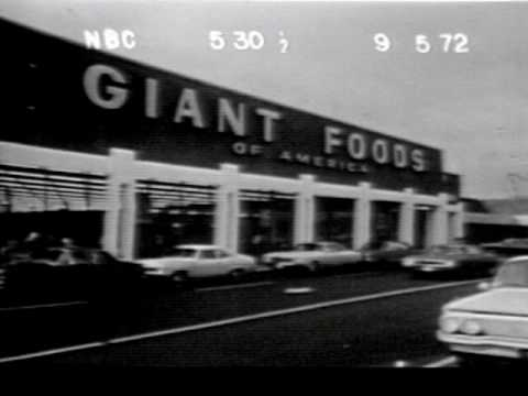 Classic Commercial 1972 Giant Foods Youtube