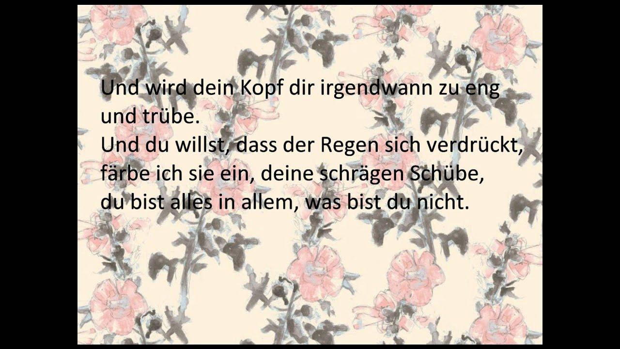 Herbert Grönemeyer Glück Lyrics Youtube