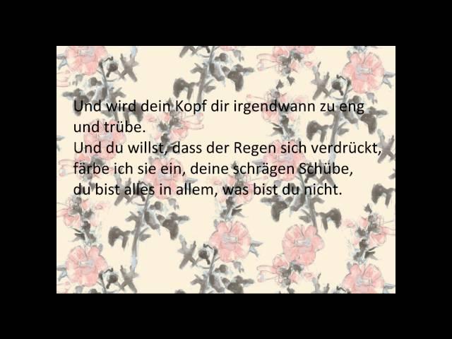 Herbert Grönemeyer - Glück (Lyrics)
