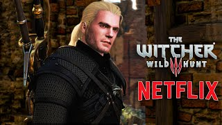 The Witcher 3 - Henry Cavill | Updated Face Mod | The Witcher 3 Mod (Netflix's The Witcher)