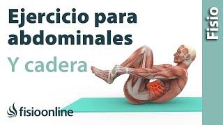 Ejercicio para una cadera mas flexible y un abdomen mas tonificado