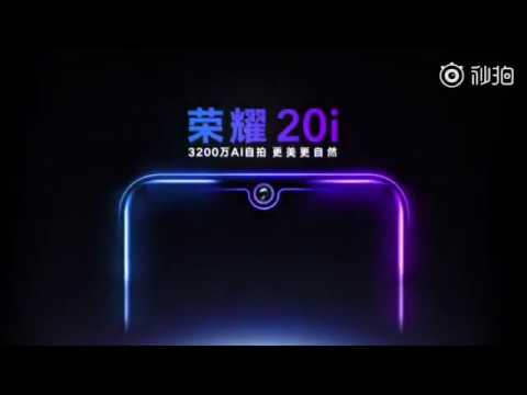 Honor 20i Official Teaser