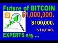 Bitcoin's Future Value to exceed $10,000 & eventually over $1 million  Experts Forcast