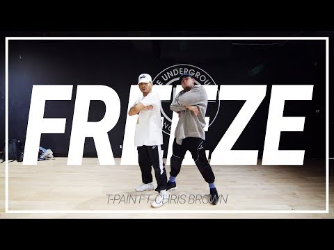 T-Pain Ft. Chris Brown | Freeze | Choreography By Oyi Cortez & Jeff Perico